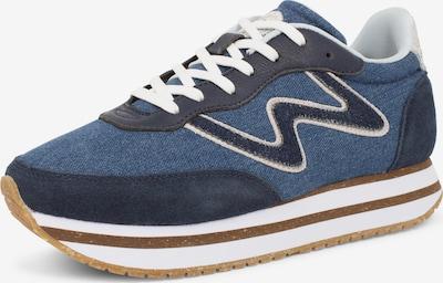 WODEN Sneakers 'Olivia' in marine blue / Blue denim / White, Item view