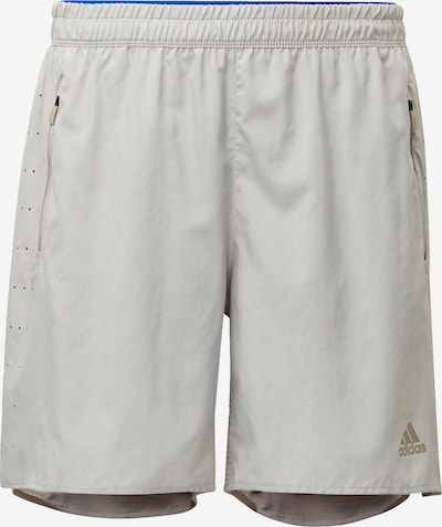 ADIDAS PERFORMANCE Shorts 'Saturday Two-in-One Ultra' in gold / grau, Produktansicht