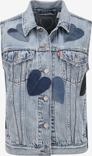Levi's® Upcycling Jeansweste 'Kelvyn Colt Design' in blau, Produktansicht