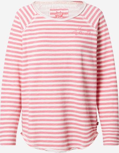 Maglietta 'Cathrina' LIEBLINGSSTÜCK di colore rosa chiaro / bianco, Visualizzazione prodotti