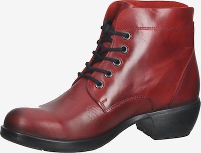 FLY LONDON Schnürstiefelette in rot, Produktansicht