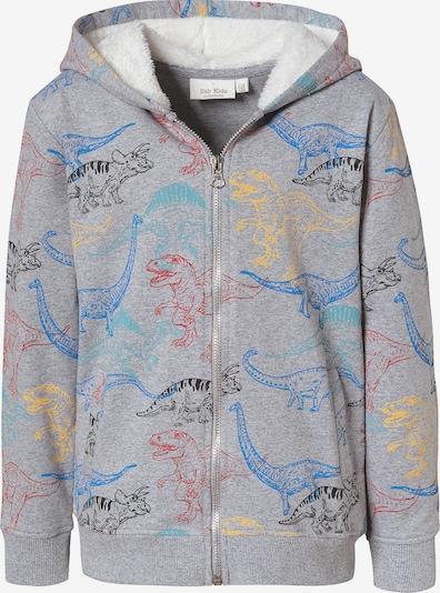 myToys-COLLECTION Sweatjacke für Jungen von ZAB kids in blau / gelb / grau / rot, Produktansicht