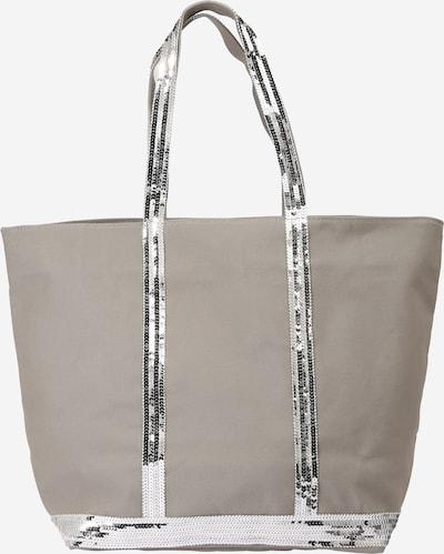 Plase de cumpărături 'CABAS' Vanessa Bruno pe gri taupe / argintiu, Vizualizare produs