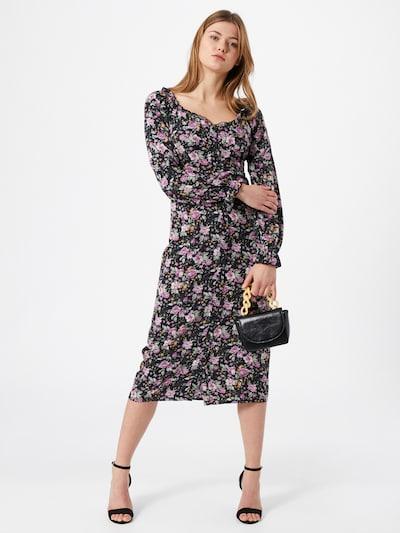 Missguided Kleid in lila / mischfarben, Modelansicht