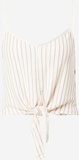 ABOUT YOU Top 'Madlin' u smeđa / bijela, Pregled proizvoda