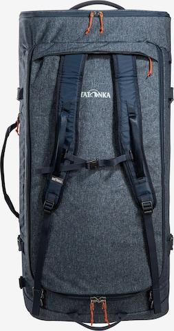 TATONKA Reisetasche 'Duffle Roller 140' in Blau
