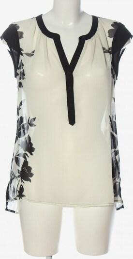 The Limited Transparenz-Bluse in S in schwarz / wollweiß, Produktansicht