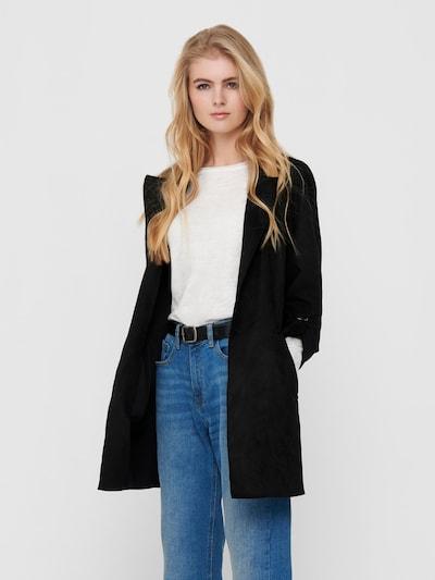 ONLY Manteau mi-saison 'Joline' en noir, Vue avec modèle