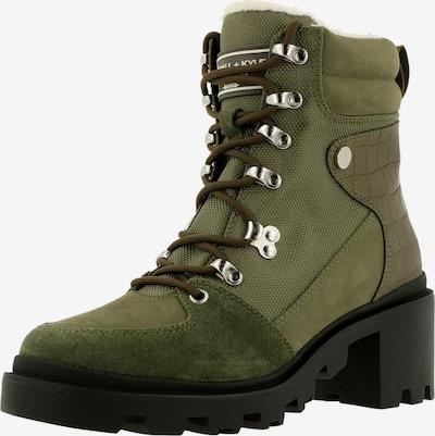 KENDALL + KYLIE Boots ' RODNEY ' in de kleur Groen, Productweergave