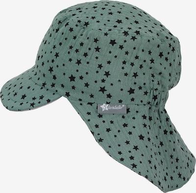 STERNTALER Hut in beige / jade / schwarz, Produktansicht