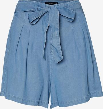 VERO MODA Laskoshousut 'Mia' värissä sininen
