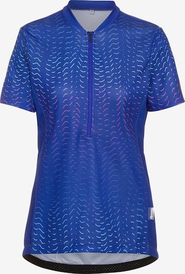 GONSO Funktionsshirt 'Giustina' in royalblau / pink / weiß, Produktansicht