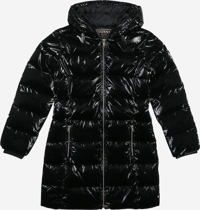 Palton GUESS pe negru, Vizualizare produs