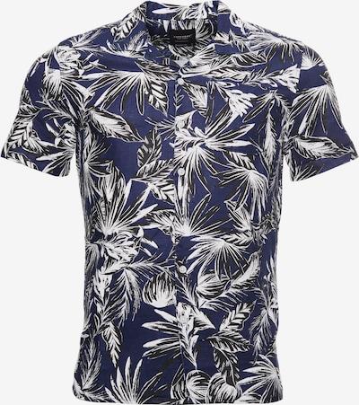 Superdry Overhemd in de kleur Blauw / Wit, Productweergave