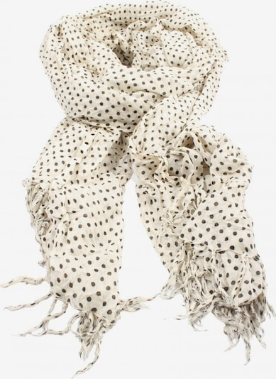 PIECES Scarf & Wrap in One size in Black / Wool white, Item view