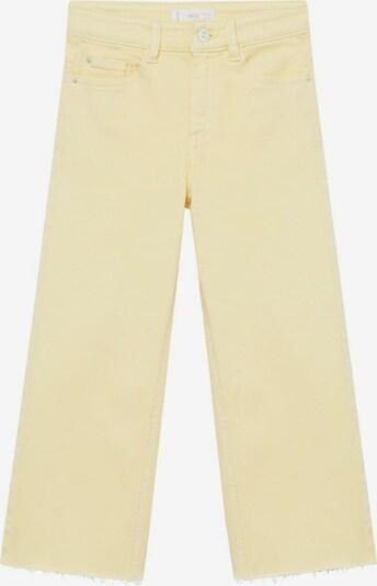 MANGO KIDS Jeans culotte in gelb, Produktansicht