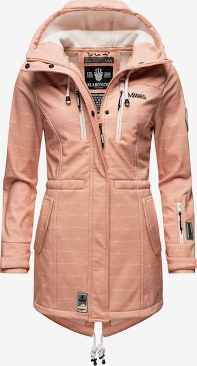 Cappotto funzionale 'Zimtzicke' MARIKOO di colore beige / grigio / rosé / rosso, Visualizzazione prodotti