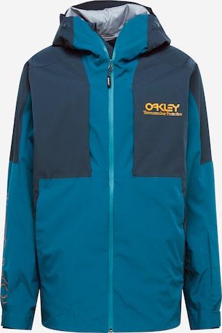 OAKLEY Outdoorjakke i blå