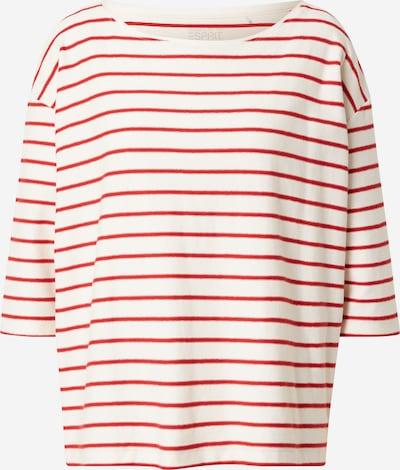 ESPRIT Тениска в червено / бяло, Преглед на продукта