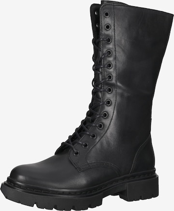 BULLBOXER Lace-Up Boots in Black