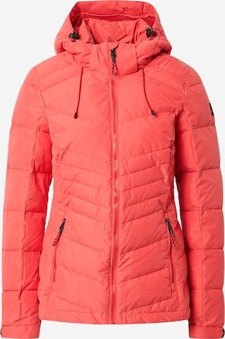 KILLTEC Outdoor Jacket in Red