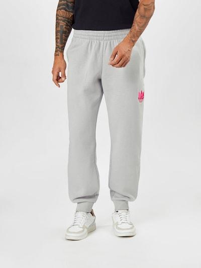 ADIDAS ORIGINALS Kalhoty - světle šedá / pink, Model/ka