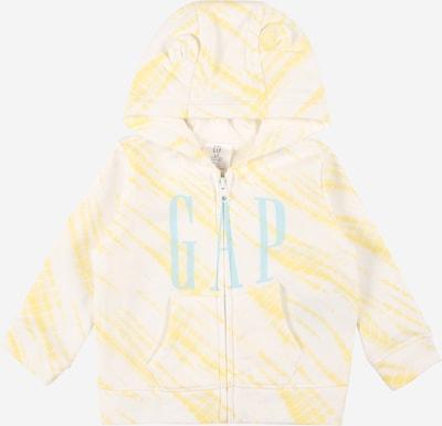 GAP Sweatvest in de kleur Lichtblauw / Geel / Wit, Productweergave