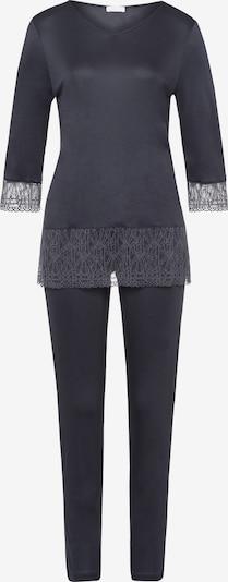Hanro Pyjama ' Imani NW ' in dunkelblau, Produktansicht