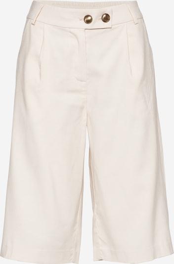 VILA Hlače z naborki 'ANINA' | kremna barva, Prikaz izdelka