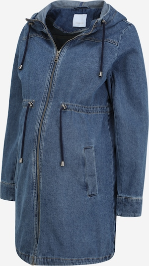MAMALICIOUS Between-seasons parka in Blue denim, Item view