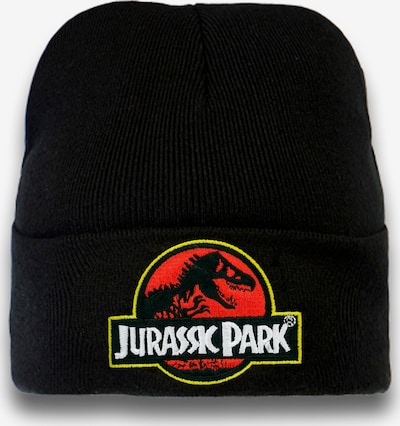 LOGOSHIRT Strickmütze 'Jurassic Park' in schwarz, Produktansicht
