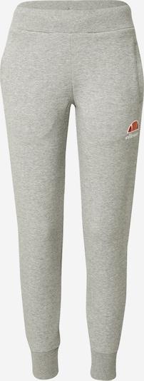 ELLESSE Spodnie 'Forza' w kolorze nakrapiany szary / pomarańczowy / czerwony / białym, Podgląd produktu