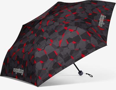 ergobag Parapluie en gris / rouge, Vue avec produit