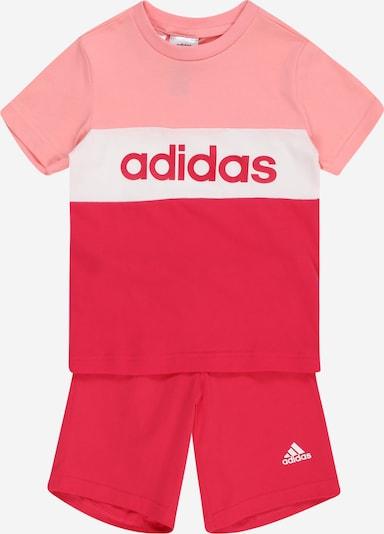 ADIDAS PERFORMANCE Sportanzug in pink / rosa / weiß, Produktansicht