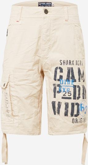 CAMP DAVID Cargo hlače u bež / plava / crna, Pregled proizvoda