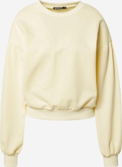 Bluză de molton 'CASSANDRA' Rut & Circle pe galben pastel, Vizualizare produs