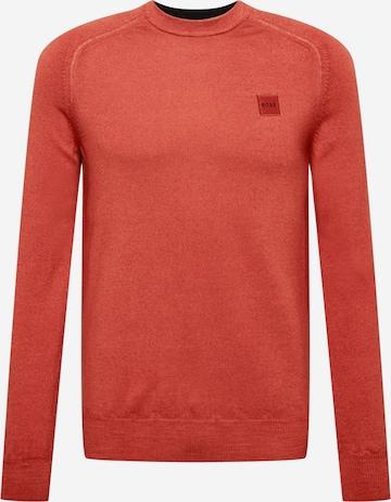 BOSS Casual Pullover  'Anserlot' in Rot