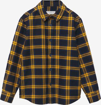 MANGO KIDS Skjorta 'Marc' i senap / svart, Produktvy