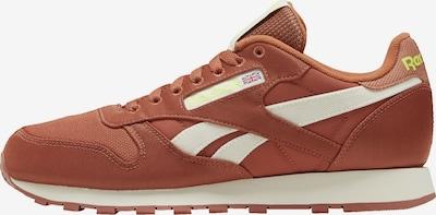 REEBOK Sneaker in braun / neongelb / weiß, Produktansicht