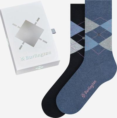 BURLINGTON Socken in blau / schwarz, Produktansicht