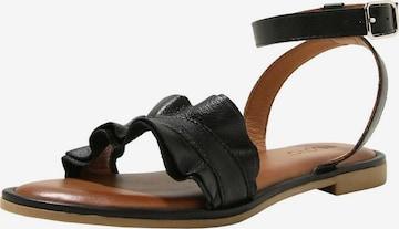 INUOVO Sandalen in Schwarz