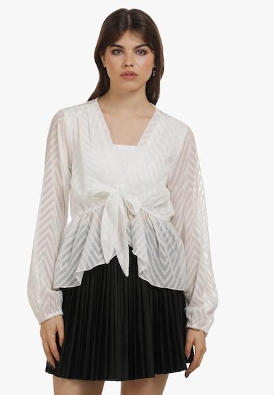 myMo ROCKS Blouse in de kleur Wit, Modelweergave