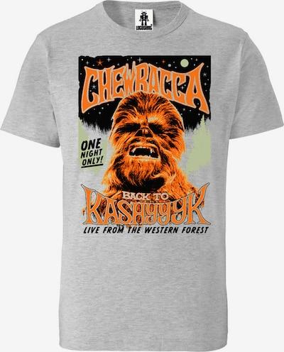 LOGOSHIRT T-Shirt 'Star Wars' in grau, Produktansicht