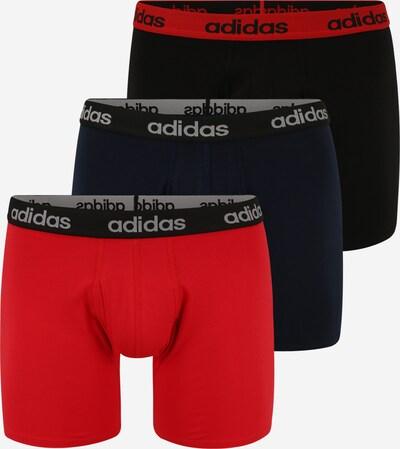 ADIDAS PERFORMANCE Boxershorts in dunkelblau / rot / schwarz, Produktansicht