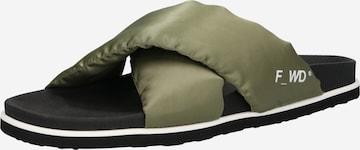 F_WD Pantolette i grön