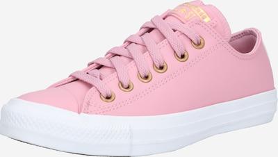 CONVERSE Baskets basses 'CTAS OX' en or / rose / blanc, Vue avec produit