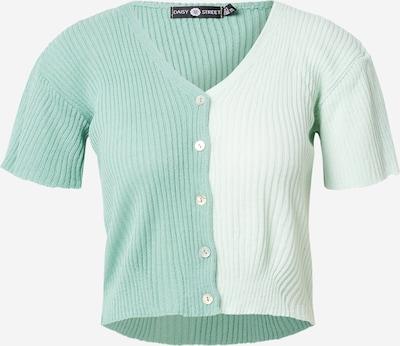 Daisy Street Adīta jaka, krāsa - piparmētru / pasteļzaļš, Preces skats