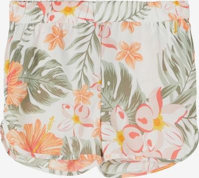 NAME IT Shorts 'Vinaya' in oliv / orange / rosa / weiß, Produktansicht