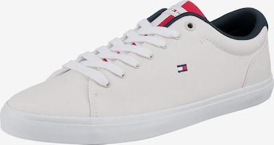 TOMMY HILFIGER Låg sneaker 'Essential' i nattblå / röd / vit, Produktvy