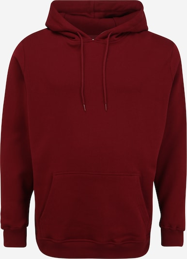 Urban Classics Big & Tall Sweatshirt in de kleur Bourgogne, Productweergave